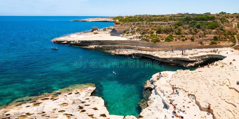 Download Cliffs, coast of Malta stock image. Image of coastal - 41799755