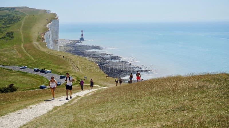Cliffs of Dover stock photos