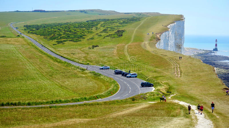 Cliffs of Dover stock photography