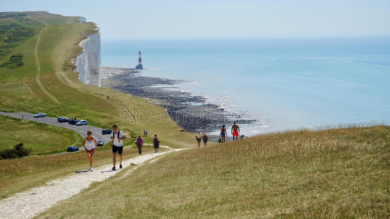 Cliffs of Dover stock photos