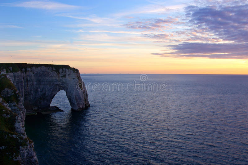 Download Cliffs in Etretat stock photo. Image of beauty, france - 11886058