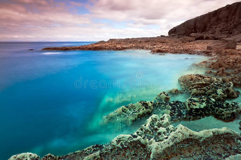 Cliffs Of Fanore Royalty Free Stock Images