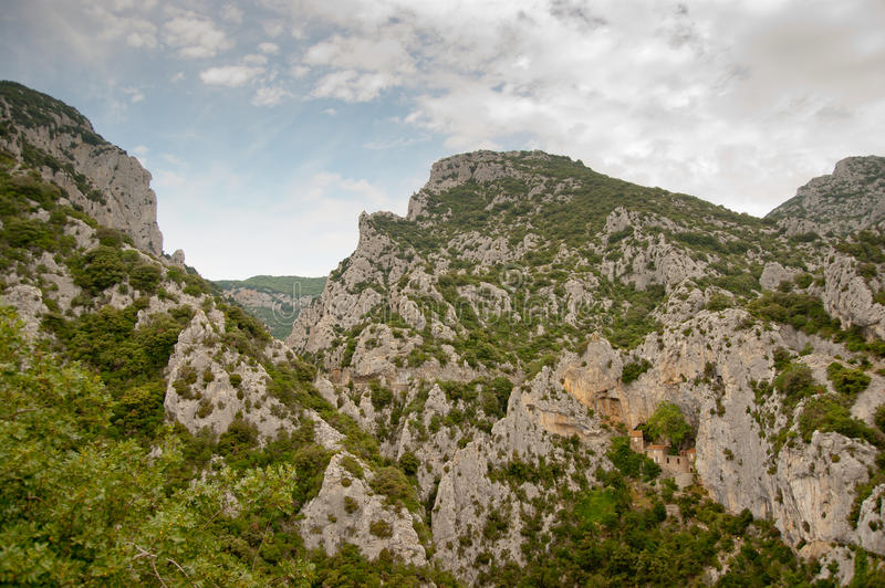 Download Cliffs In The Franch Pyrenees Stock Photo - Image of antoine, ancient: 21437430