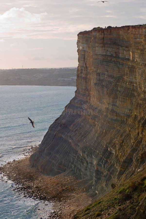 Cliffs of Lagos royalty free stock photos