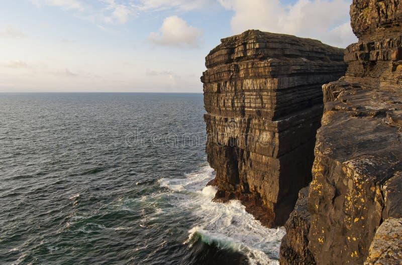 Cliffs at Loop head