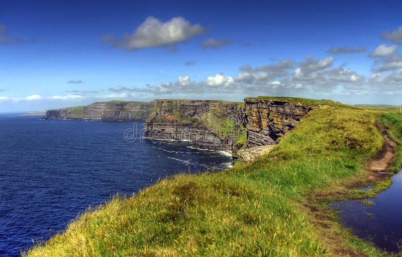 Cliffs of Moher.. stock photo