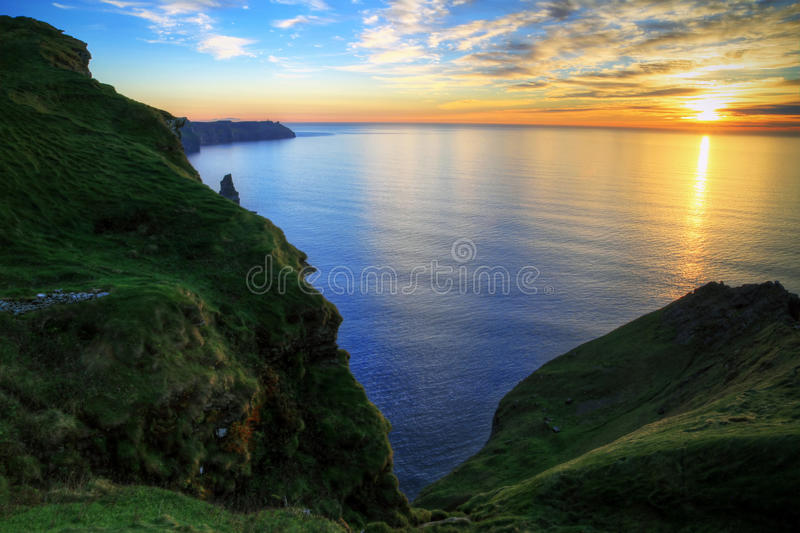 Download Cliffs of Moher stock photo. Image of blue, power, atlantic - 16744818