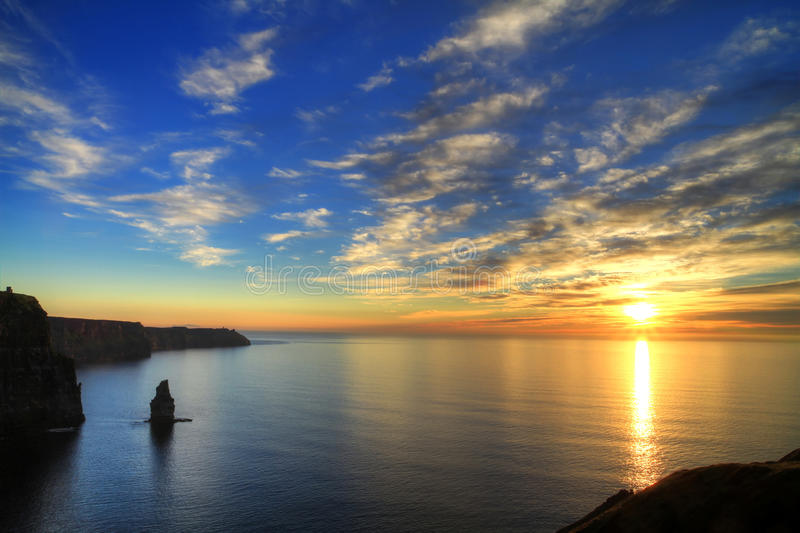 Download Cliffs of Moher stock image. Image of ireland, cliff - 17302599