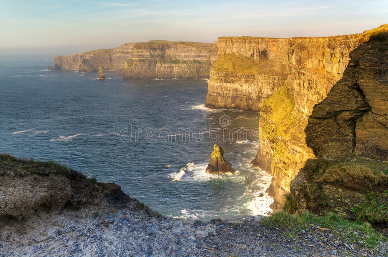 Download Cliffs of Moher stock image. Image of clare, adventure - 19361653