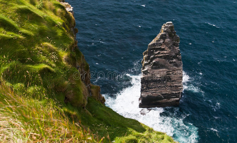 Download Cliffs of Moher stock image. Image of ireland, exposed - 20671285
