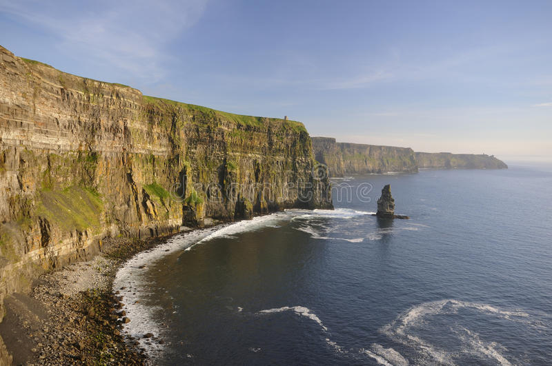 Download Cliffs Of Moher stock image. Image of ireland, clare - 22268045