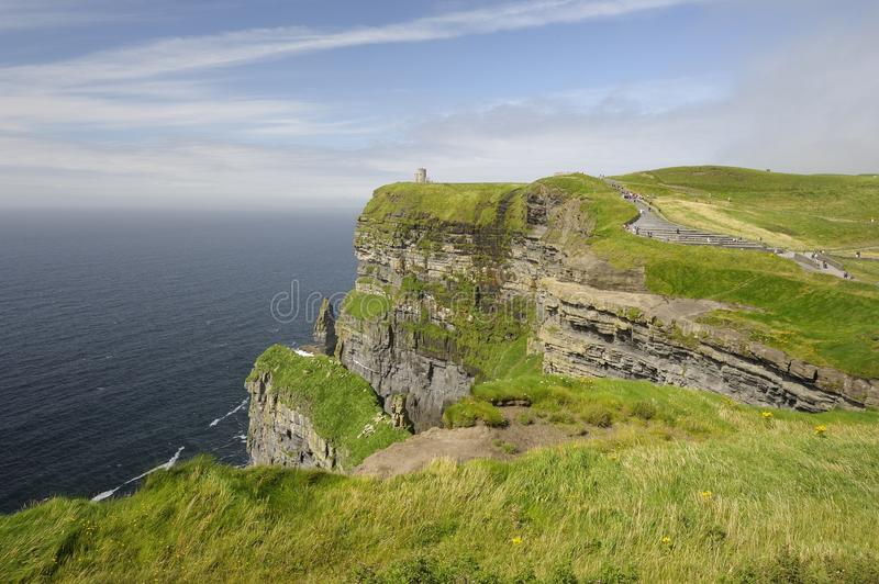 Download Cliffs of Moher stock photo. Image of beautiful, scenery - 27873960
