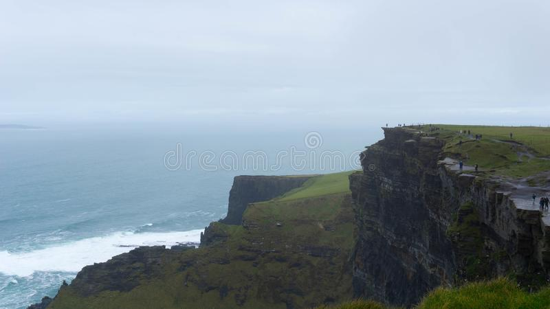 Cliffs of Moher, County Clare, Ierland stock foto