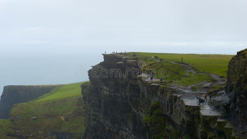 Cliffs of Moher, County Clare, Ierland stock fotografie
