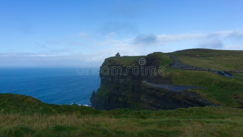 Cliffs of Moher, County Clare, Ierland royalty-vrije stock fotografie