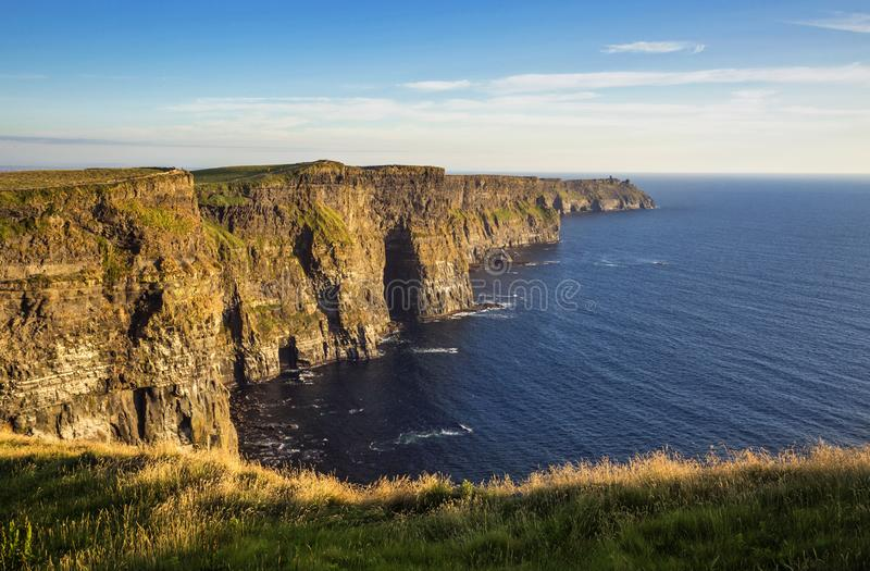 The Cliffs of Moher. County Clare, Ireland stock photography