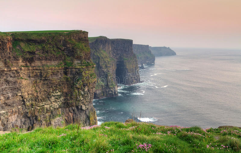 Download Cliffs of Moher at dusk stock photo. Image of ancient - 19391932