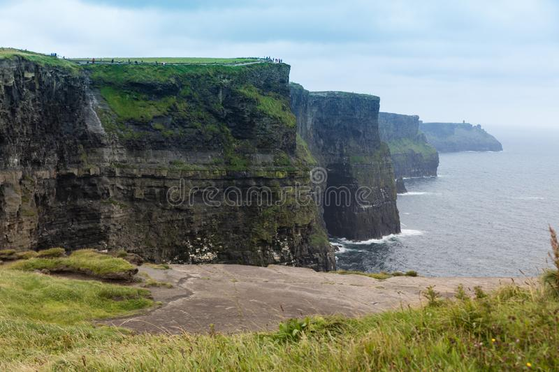 The cliffs of Moher royalty free stock image
