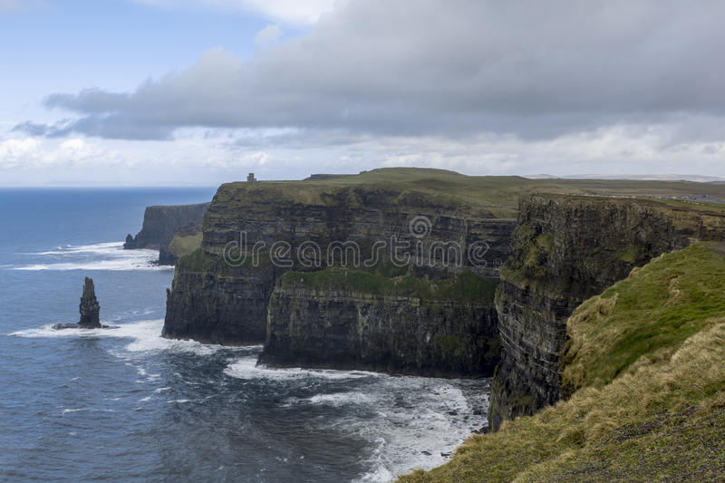 Cliffs of Moher in Ireland royalty free stock images