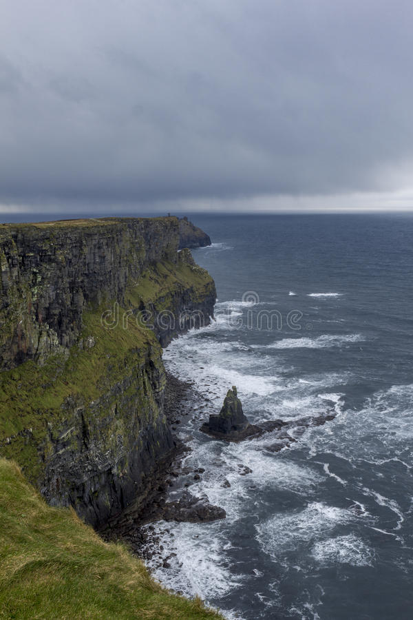 Cliffs of Moher in Ireland royalty free stock photography