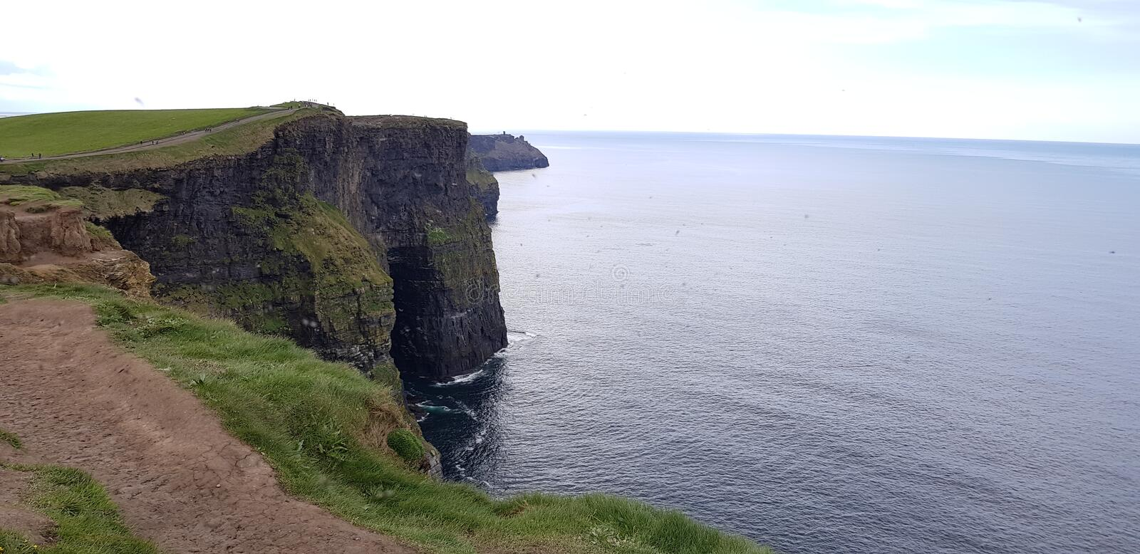 Cliffs of Moher. View of Cliffs of Moher,Ireland stock images