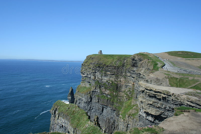 Cliffs Of Mohr Stock Photography