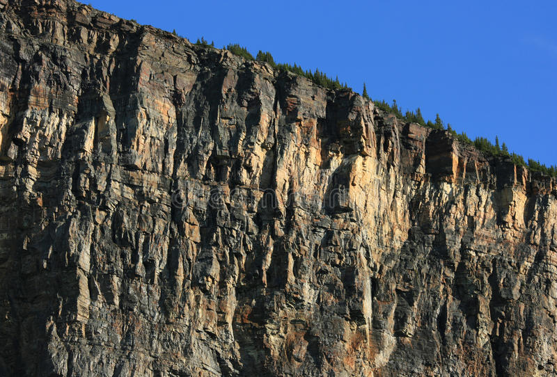 Download Cliffs of Mount Fairview stock photo. Image of banff - 12277516