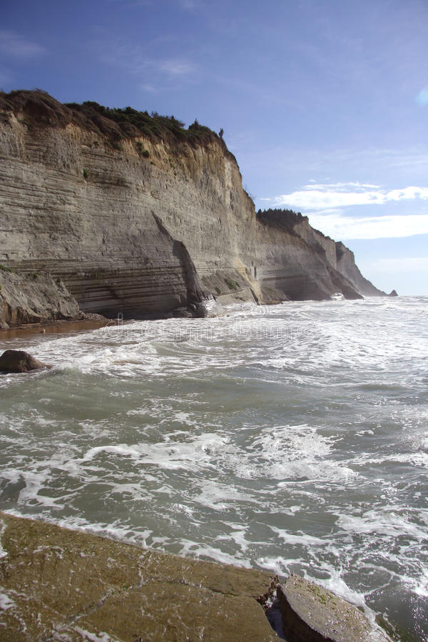 Cliffs of Peroulades (Corfu, Greece)