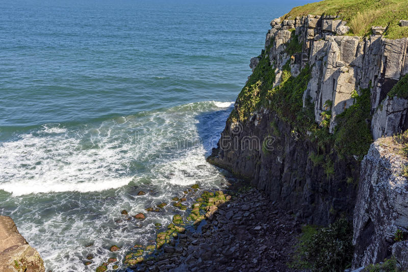 Cliffs and rock stock photo
