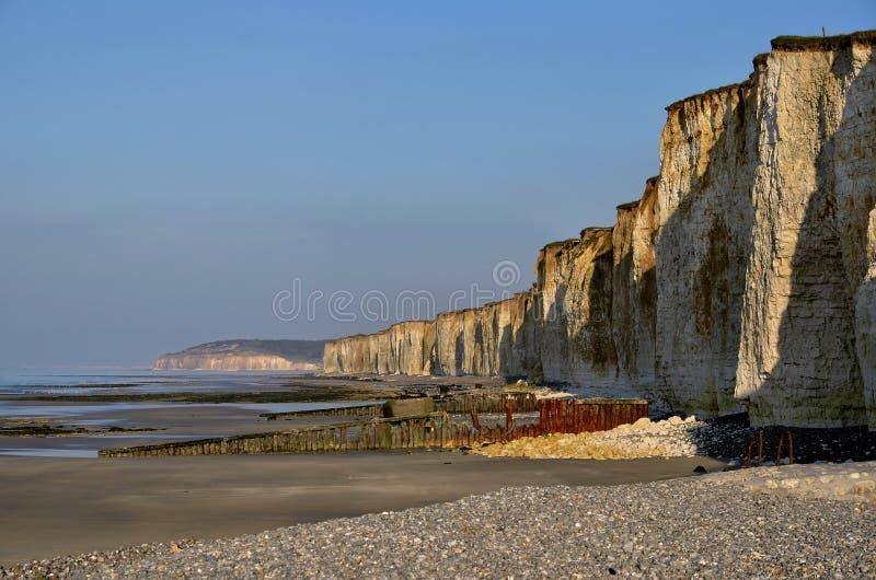 Download Cliffs Of Saint Aubin Sur Mer In France Stock Image - Image: 23278647