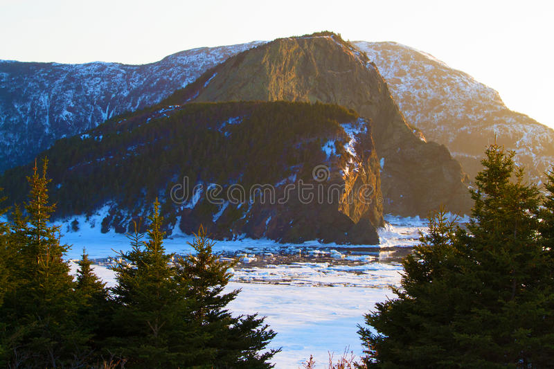 Download The cliffs at sunset stock photo. Image of color, seascape - 39508320