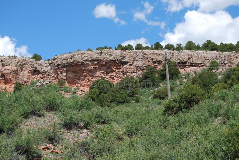 Cliffside royalty-vrije stock afbeeldingen
