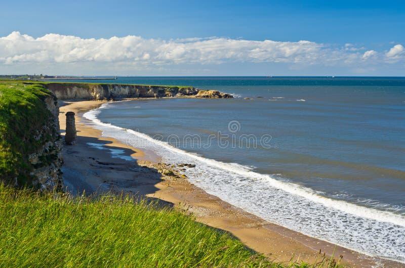 Download Clifftop Coastline stock photo. Image of north, england - 21782496