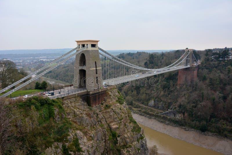 Clifton吊桥 库存照片