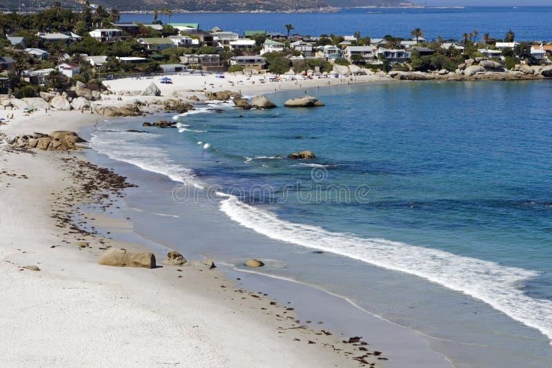 Clifton beach royalty free stock image