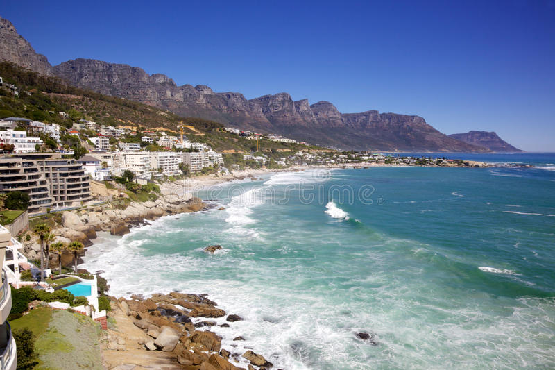 Clifton Beach royalty free stock images