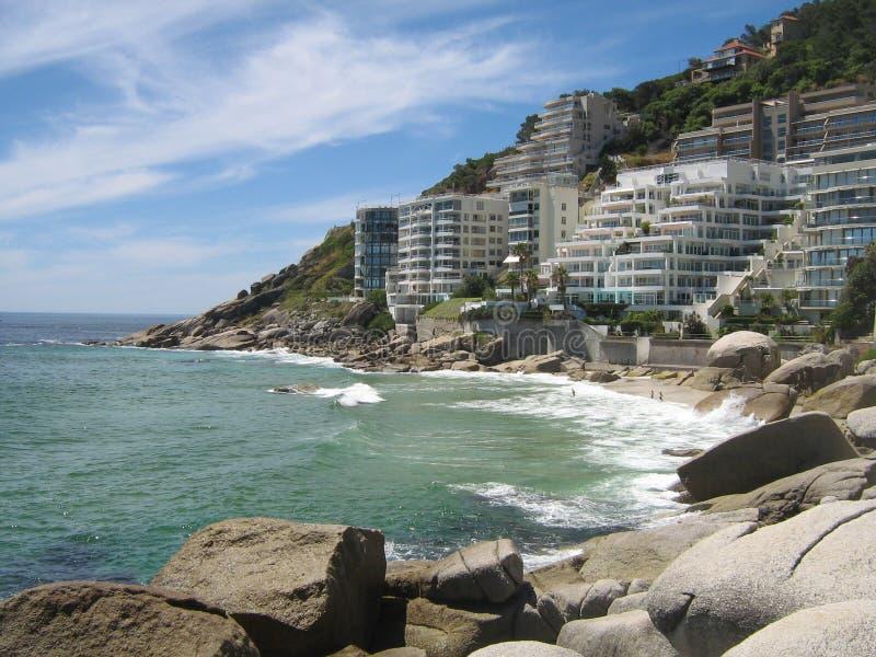 Clifton Beach stock image