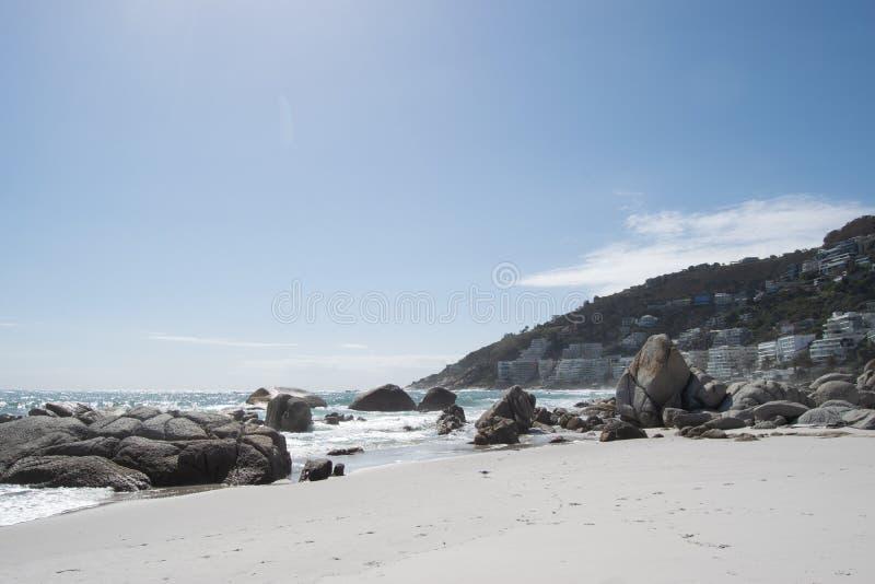 Clifton Beach, Kapstaden royaltyfria foton