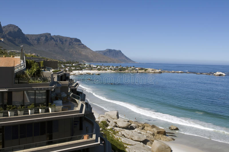 Download Clifton Beach Near Cape Town Stock Image - Image: 10132345