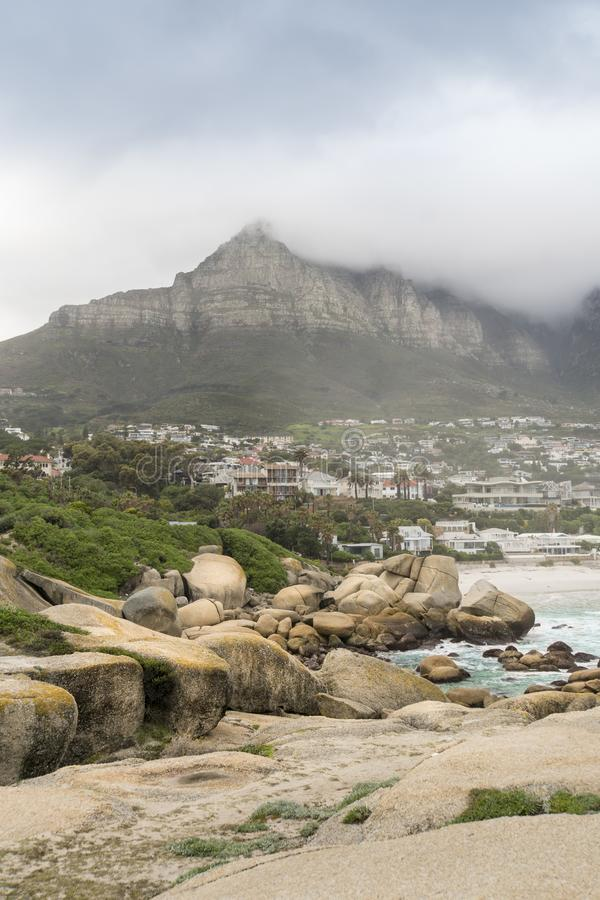 Clifton, Cape Town image stock