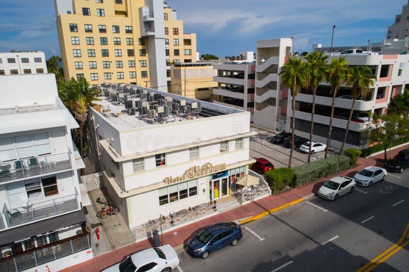Clifton Miami Beach stock afbeelding