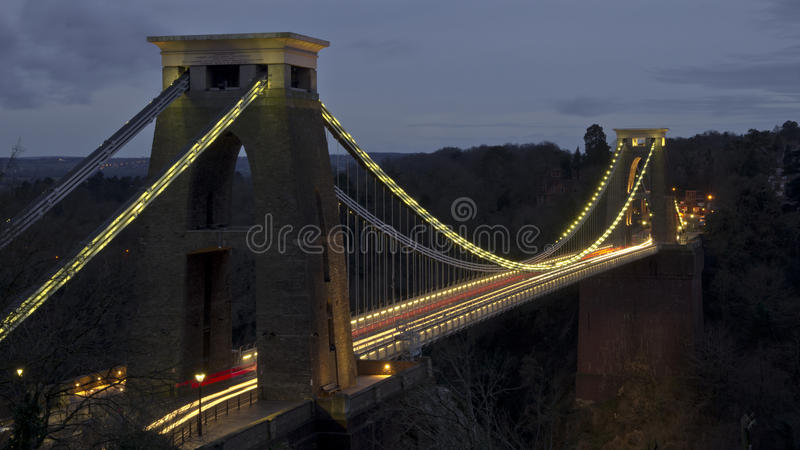 Clifton Suspension Bridge lizenzfreie stockbilder