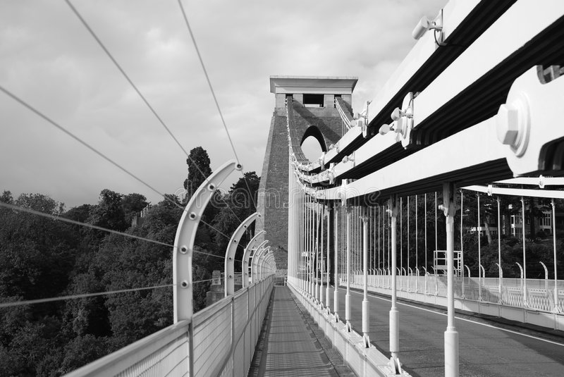 Download Clifton Suspension Bridge stock photo. Image of england - 7553962