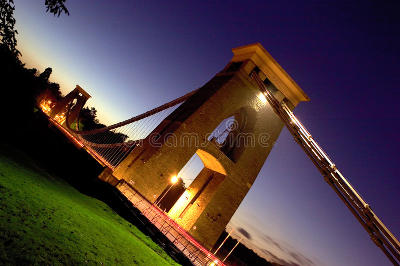 Download Clifton Suspension Bridge stock photo. Image of cables - 781546