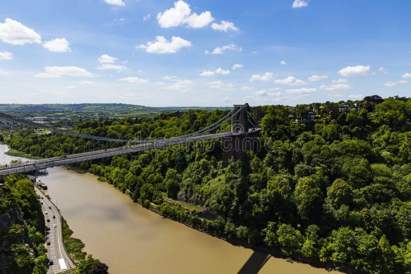 Clifton Suspension Bridge fotografía de archivo libre de regalías