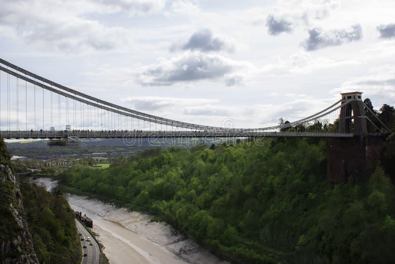 Clifton Suspension Bridge immagini stock libere da diritti
