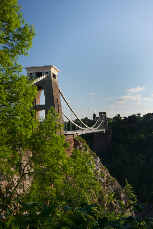 Clifton Suspension Bridge, Bristol royalty free stock photos