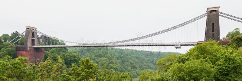 Clifton Suspension Bridge in Bristol fotografia stock libera da diritti