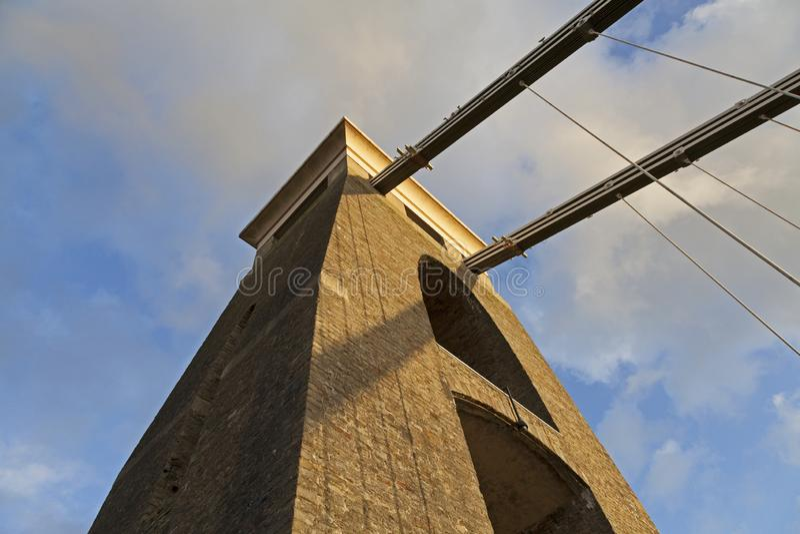 Clifton Suspension Bridge fotos de stock royalty free