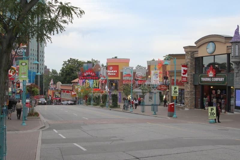 Clifton wzgórze, Niagara spadki zdjęcie stock
